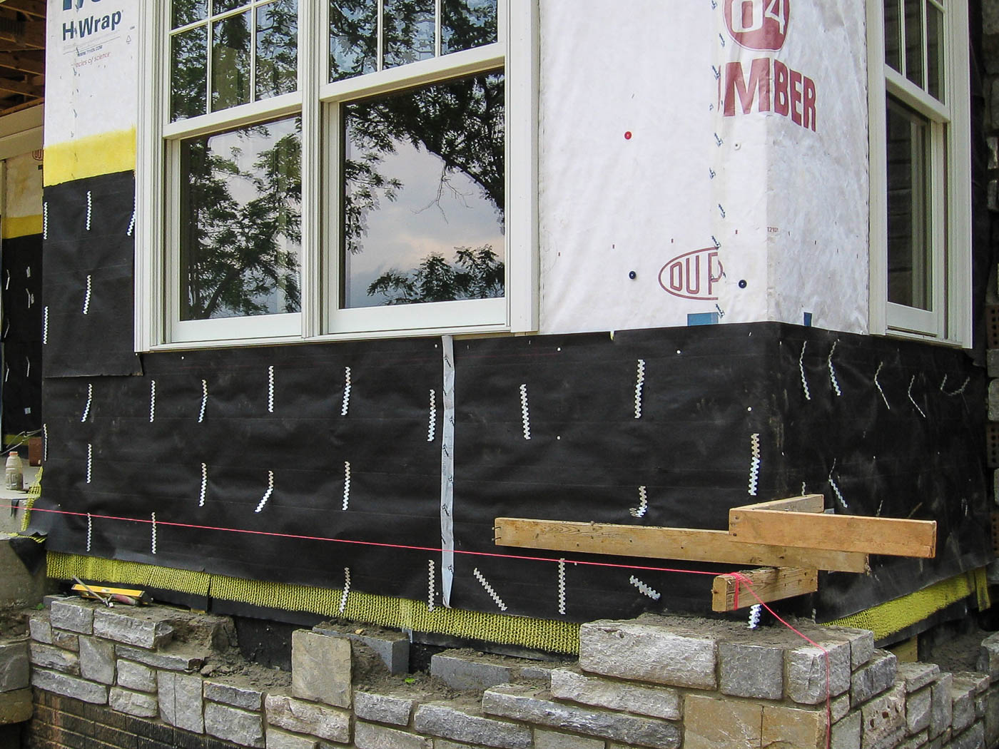 Shenandoah Stone Cottage Construction 2