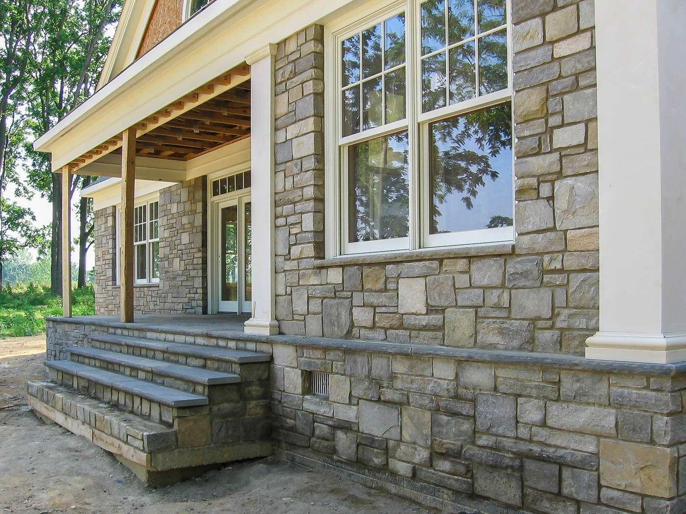 Shenandoah Stone Cottage Construction 4
