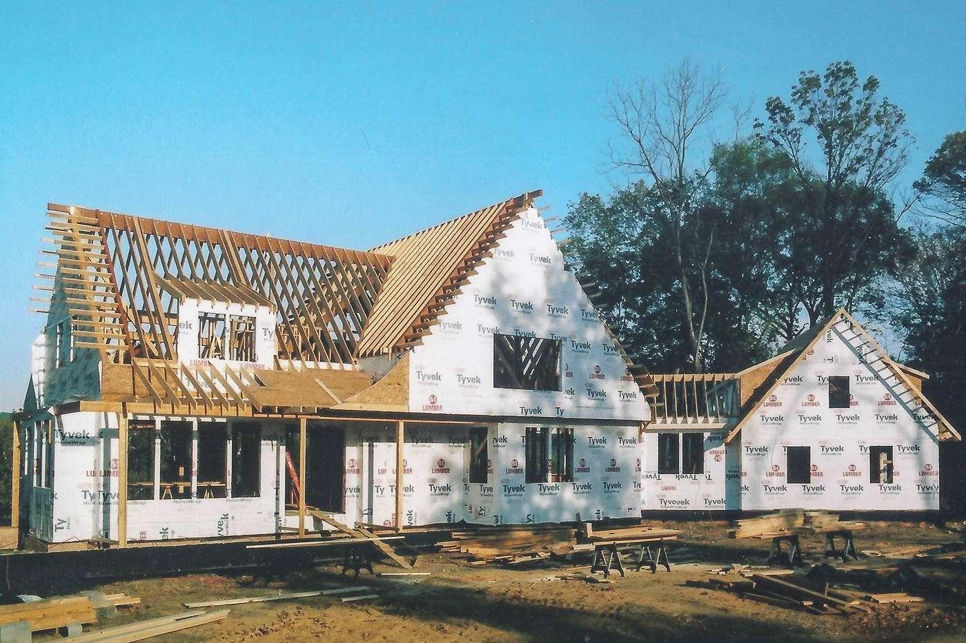 Potomac Lodge Construction 1