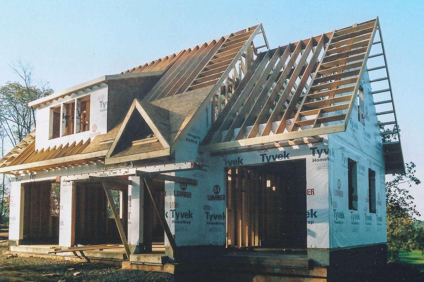 Potomac Lodge Construction 2
