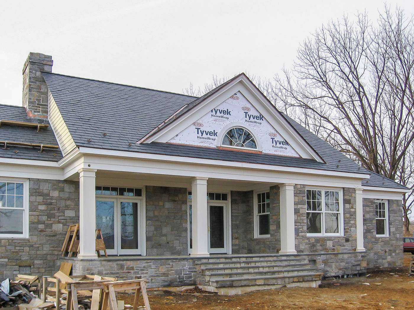Shenandoah Stone Cottage Construction 6