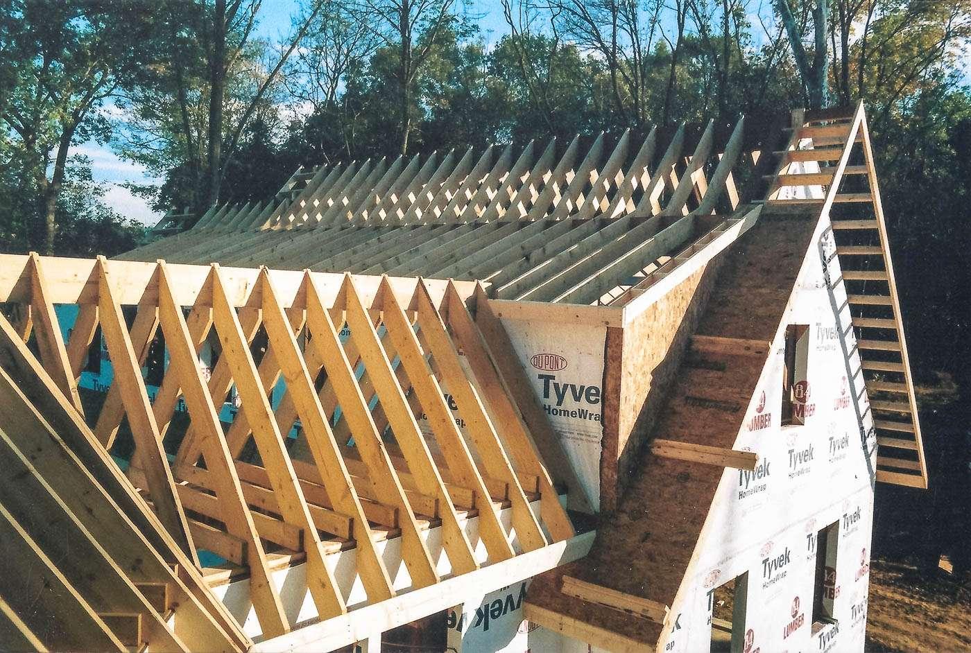 Potomac Lodge Construction 3