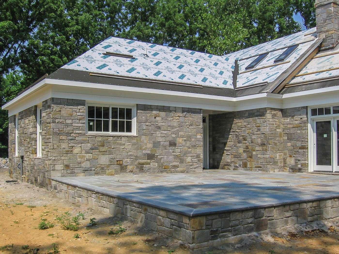 Shenandoah Stone Cottage Construction 7