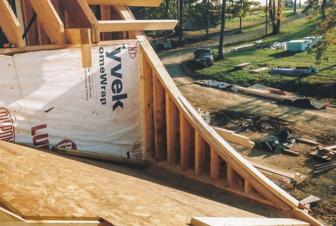Potomac Lodge Construction 4