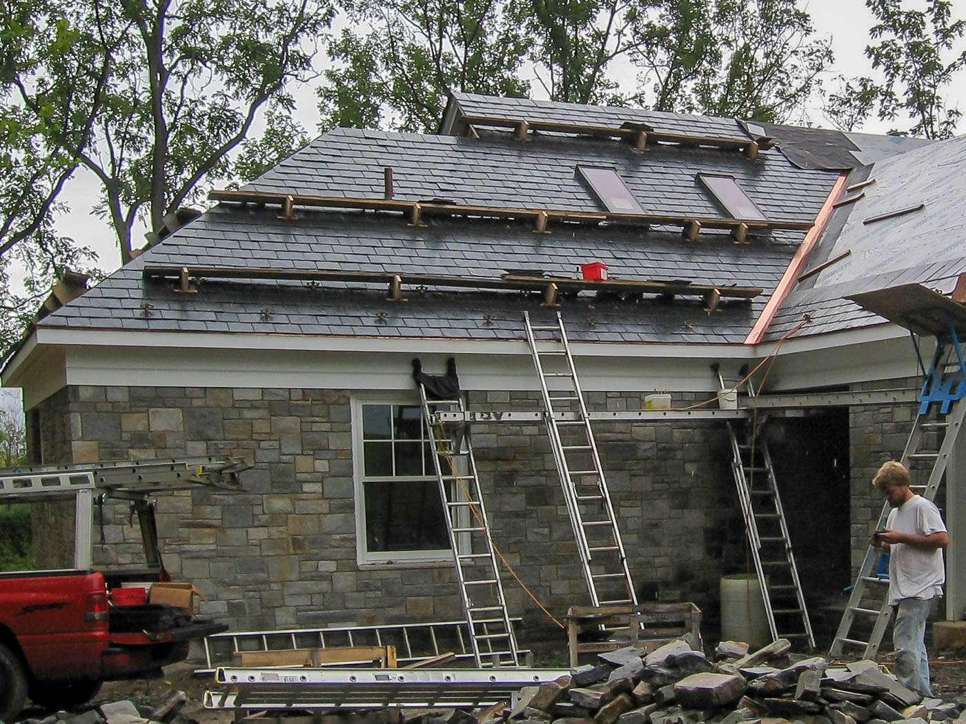 Shenandoah Stone Cottage Construction 8