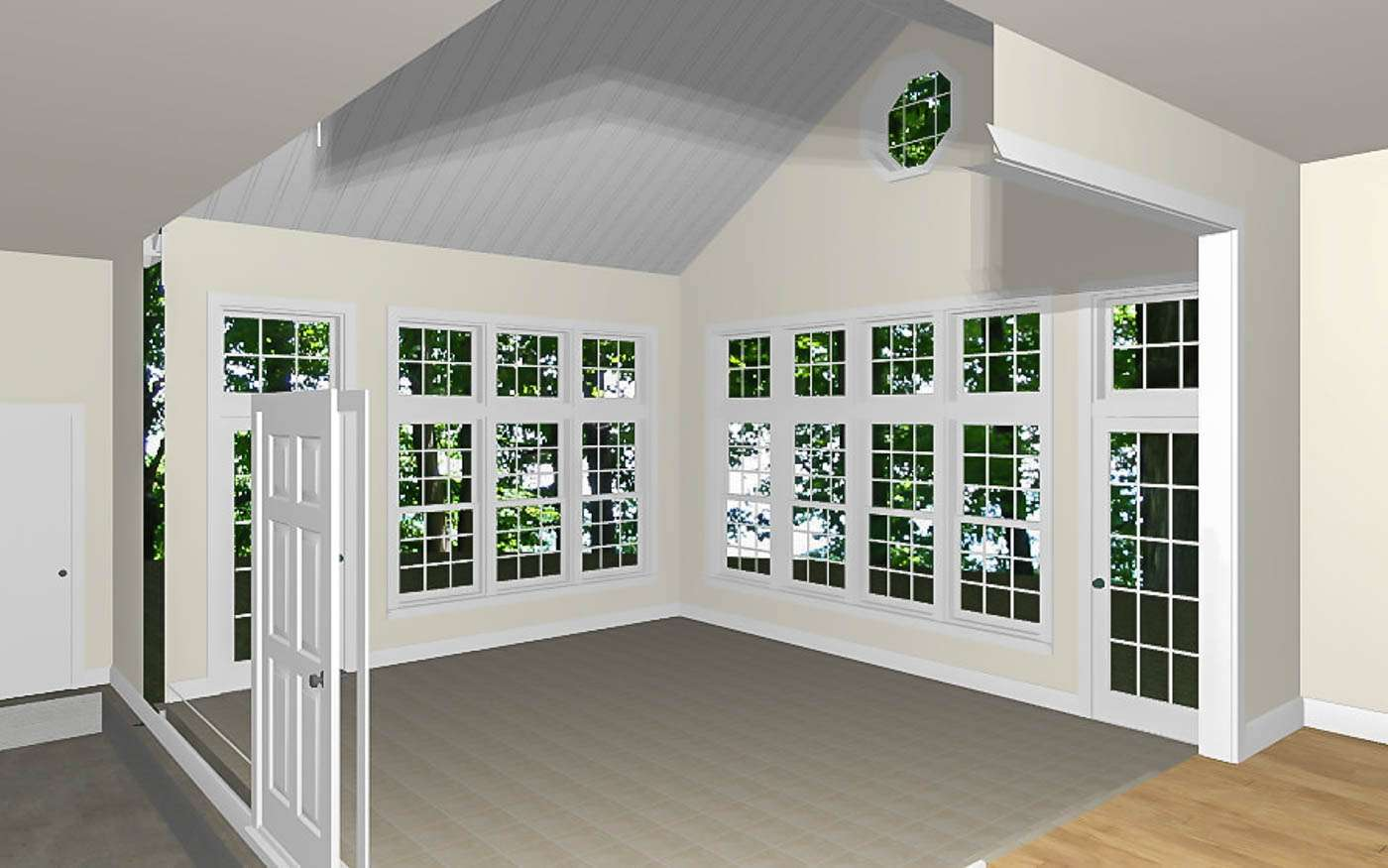 Cloverdale Sunroom Interior