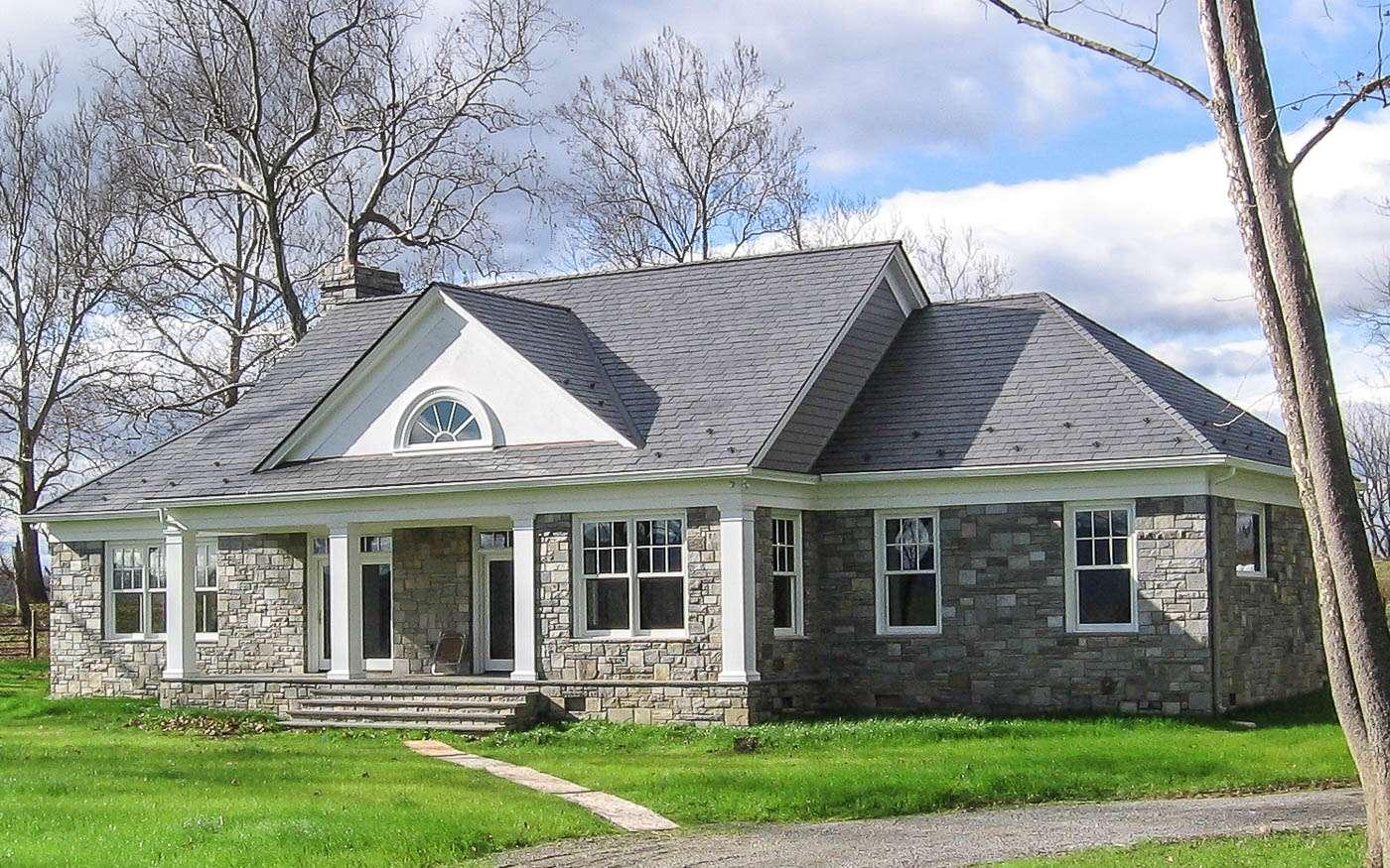 Shenandoah Stone Cottage Front 2