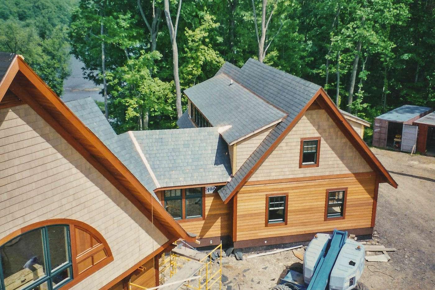 Potomac Lodge Construction 9