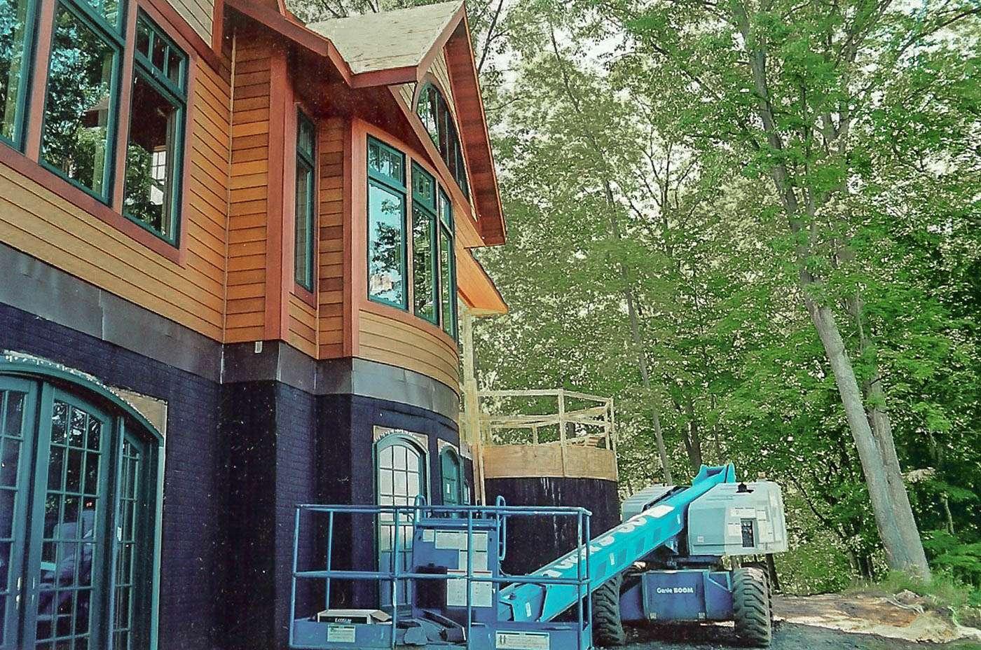 Potomac Lodge Construction 14
