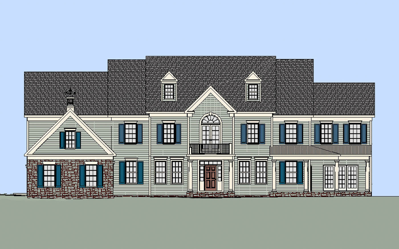 Sweetbriar Residence Front 2