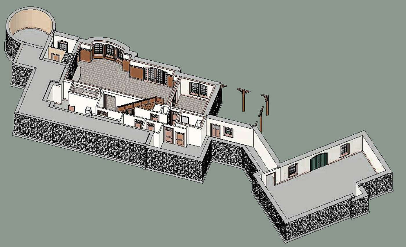 Potomac Lodge Terrace Floor