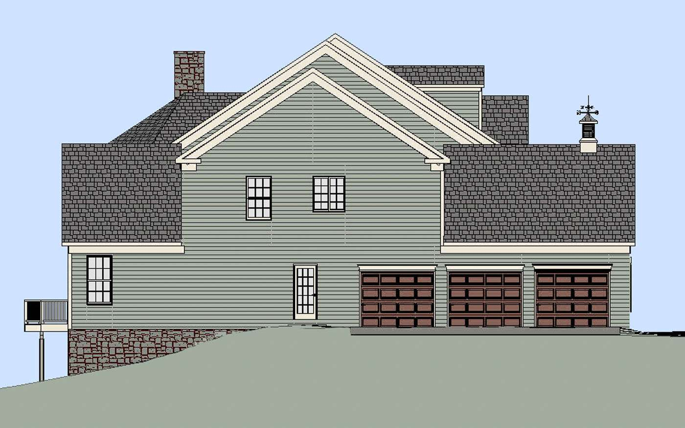 Sweetbriar Residence Garage End