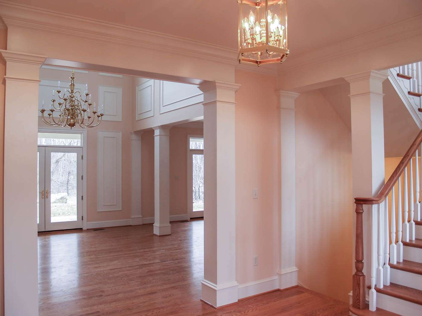 Green Hill Manor Foyer to Dining 2