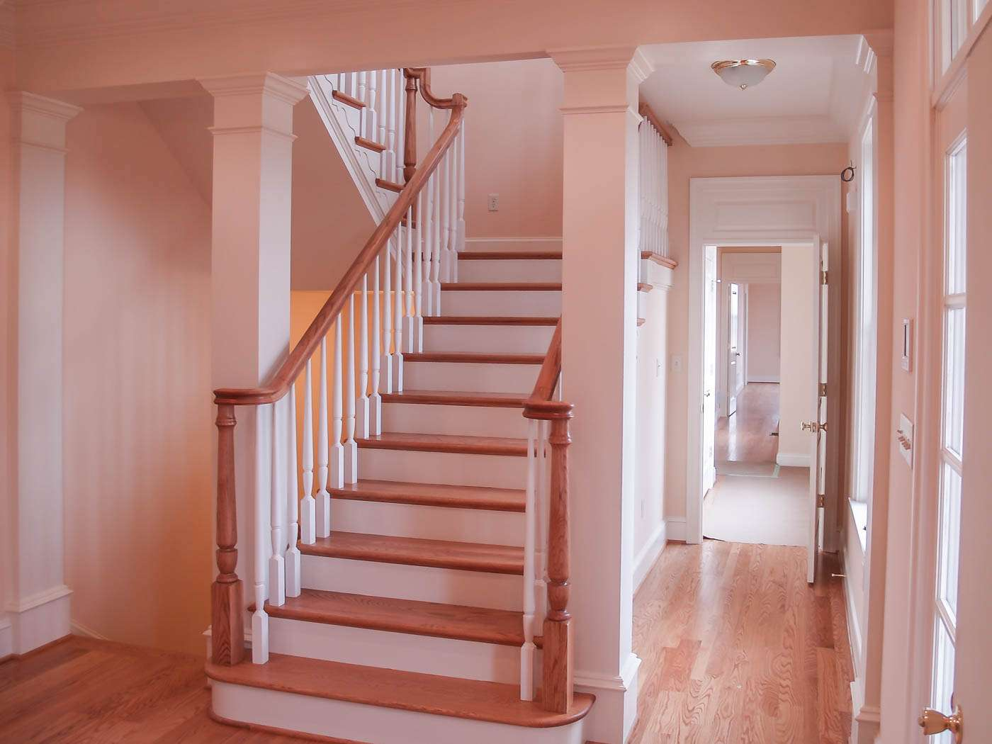 Green Hill Manor Foyer Stair 1