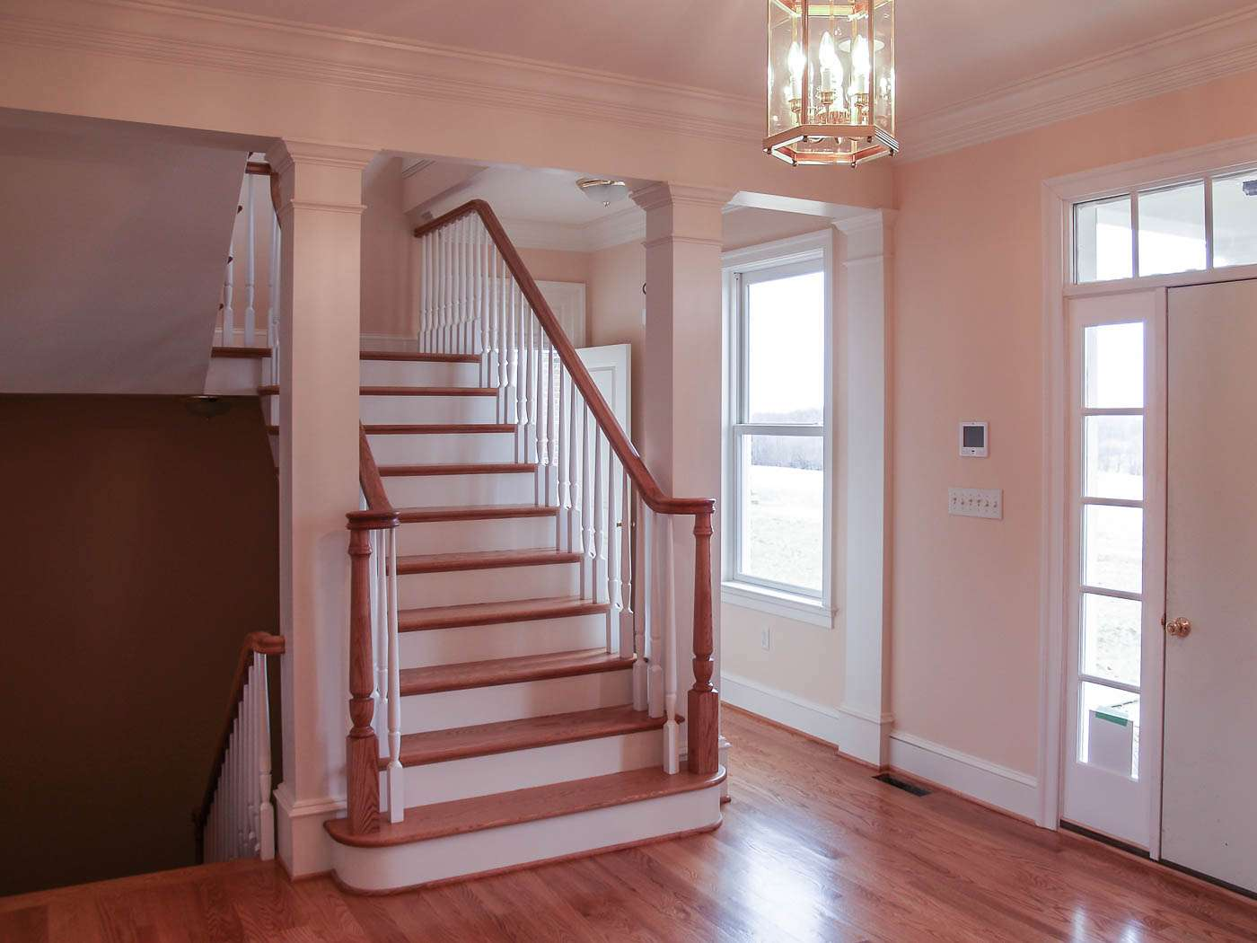 Green Hill Manor Foyer Stair 2