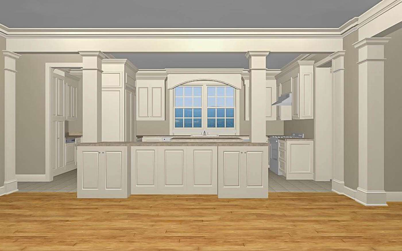 Green Hill Manor Family to Kitchen 2