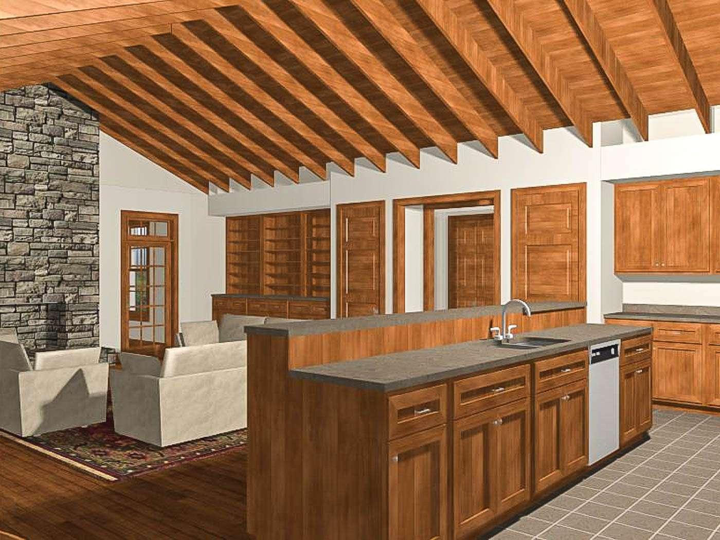 Shenandoah Stone Cottage Interior 1